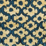 Lattice in Marine. Waves in Royal. Persian Knot.