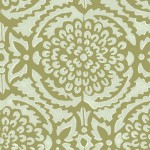 Pomegranate Wallpaper in Willow/Moss
